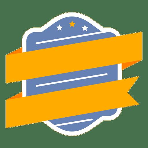 Badge label shield ribbon Transparent PNG