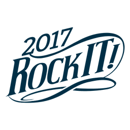 Rock It New Year Badge