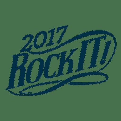 Rock It New Year Badge