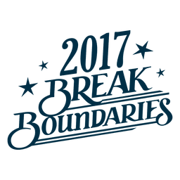 Brake Boundaries New Year Badge
