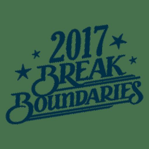 Brake Boundaries New Year Badge