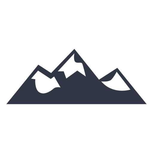 Insignia de ilustración de senderismo de escalada de montaña