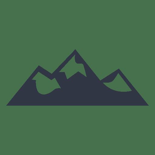 Mountain climbing hiking illustration badge Transparent PNG