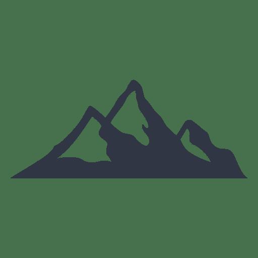 Snow mountain climbing illustration