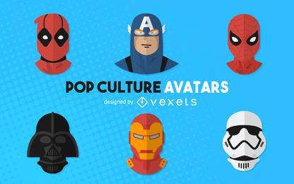 Avatares de la película de la cultura pop.