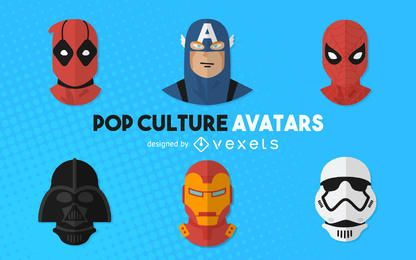 Pop culture movie avatars