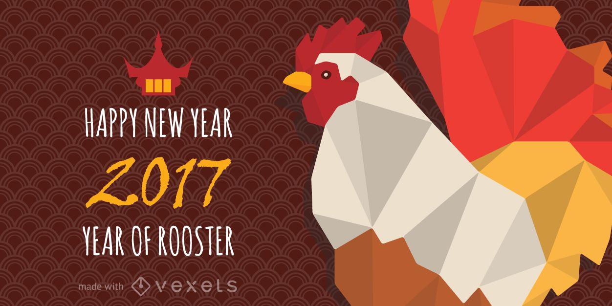 2017 año del fabricante de carteles del gallo