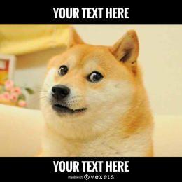 gerador meme do cão