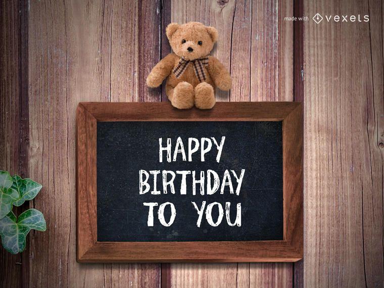Herzlichen Glückwunsch zum Geburtstag!