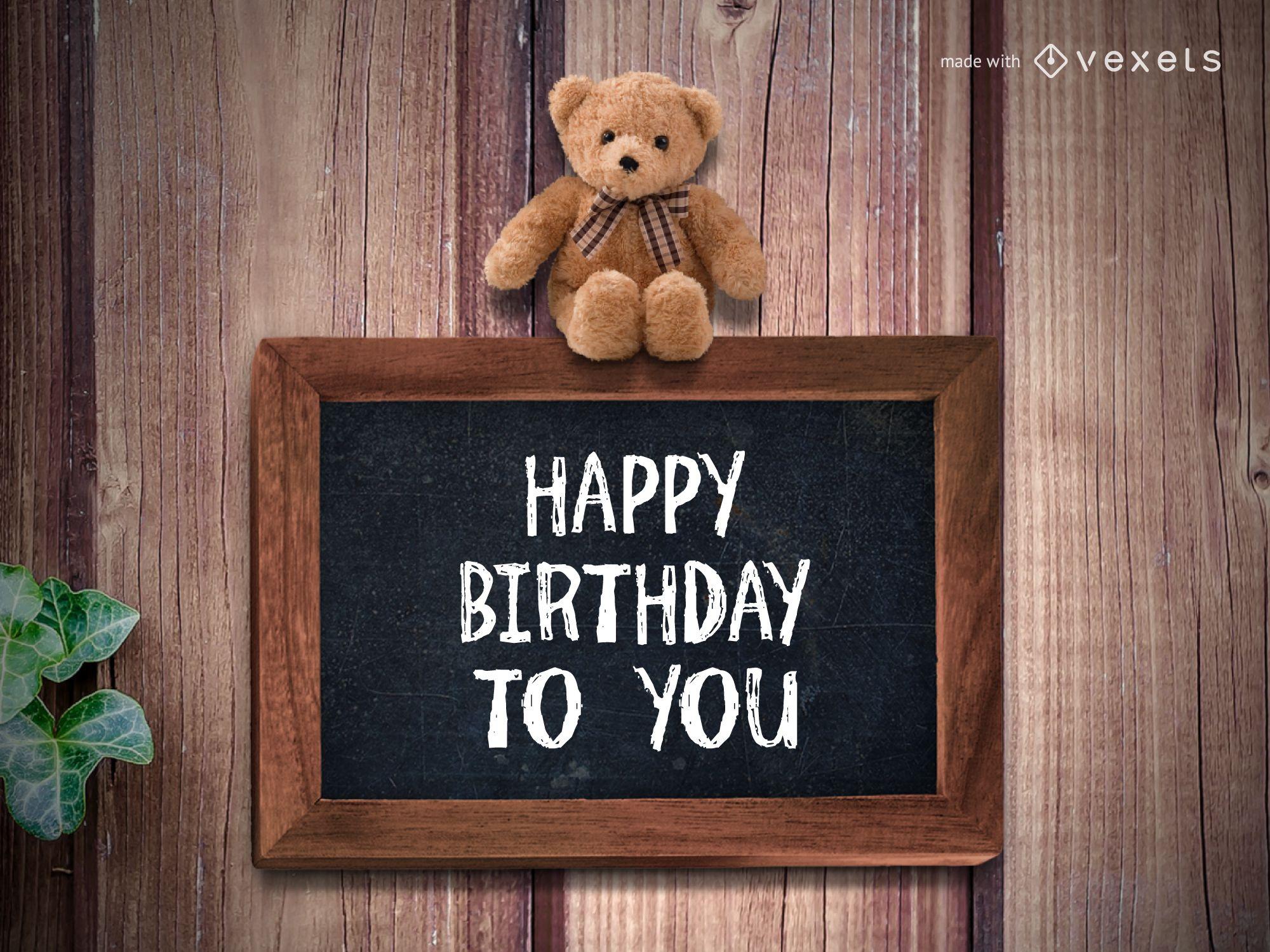 Happy Birthday greeting maker
