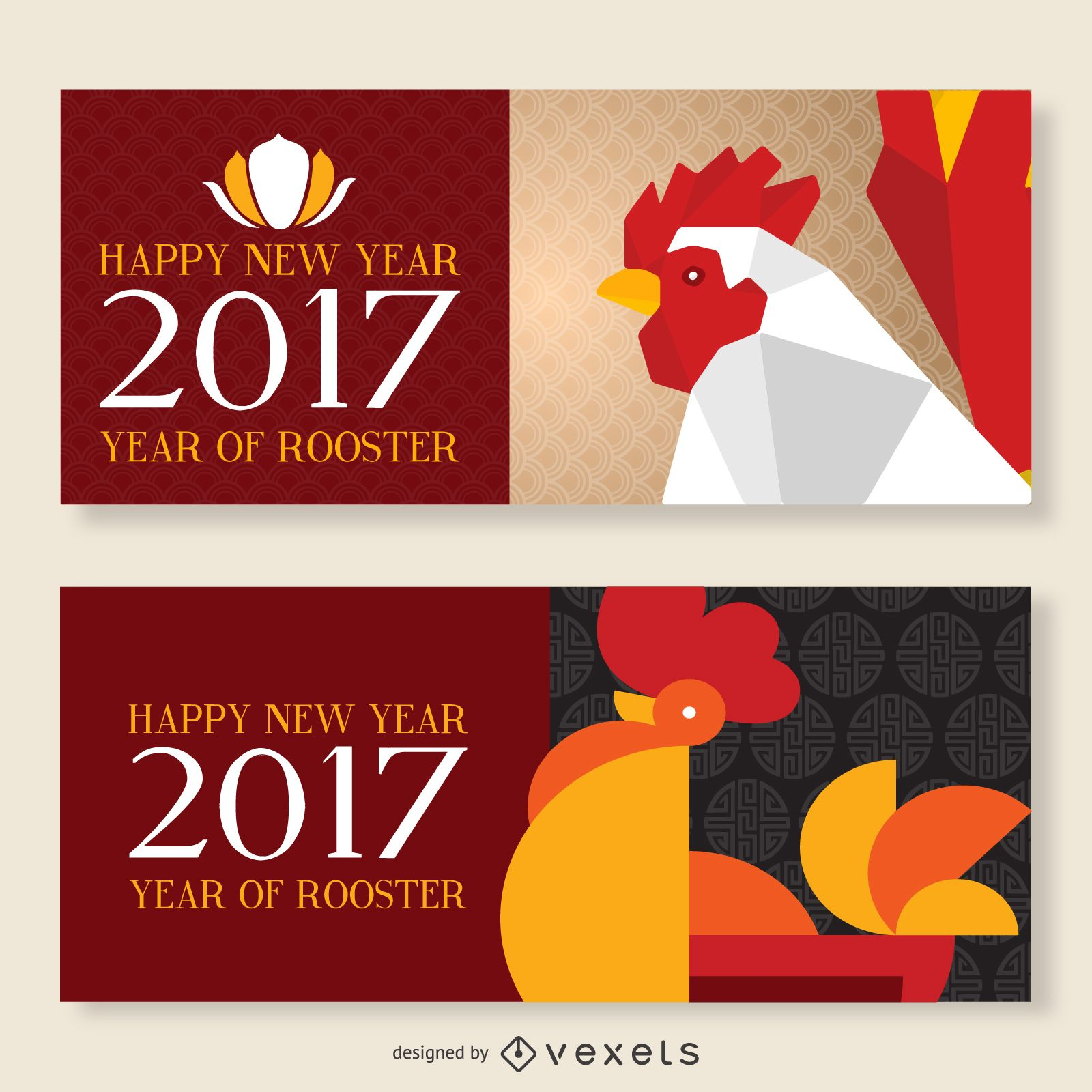 2017 chinese new year banner set download large image 1600x1600px license image user