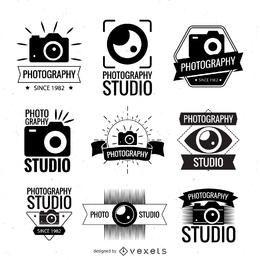 Logotipo da fotografia temporário coleção