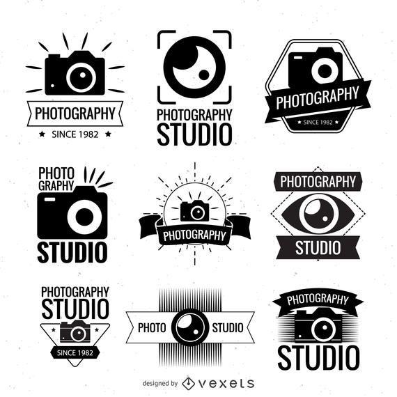 Photography logo tempates collection