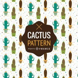 Cactus pattern or background