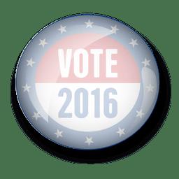 EE.UU. voto política pin
