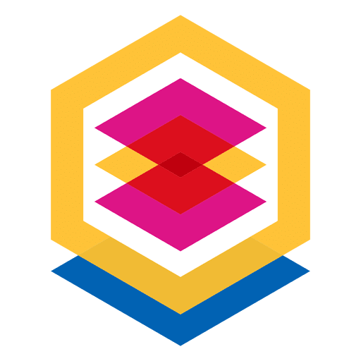 Abstraktes geometrisches Logo Transparent PNG