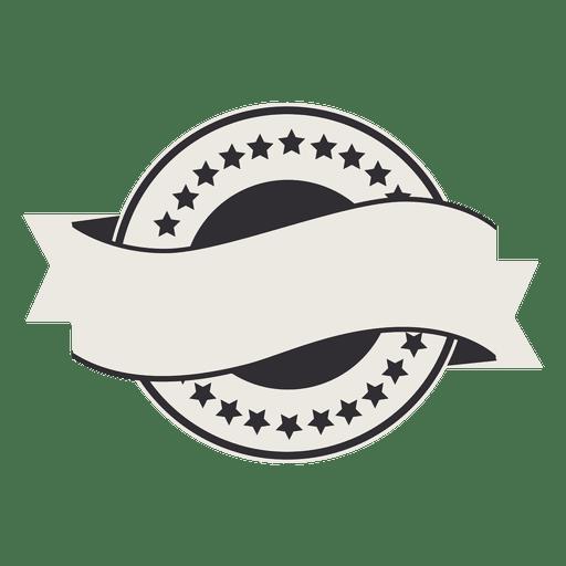 Fita de distintivo de rótulo de bandeira Transparent PNG