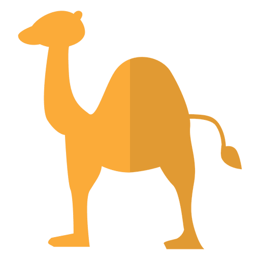 Sobremesa plana de camelo Transparent PNG