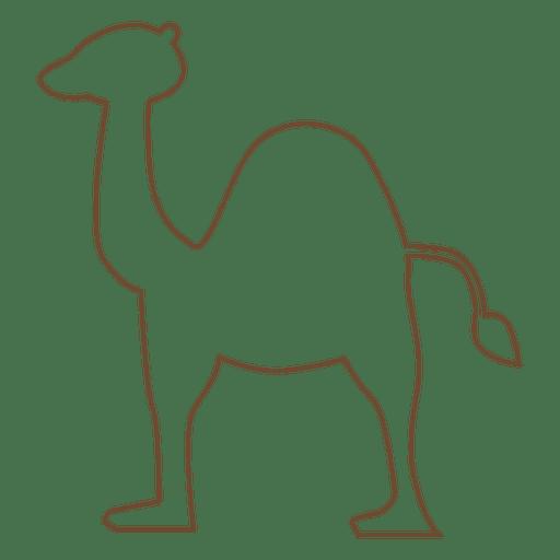 Camel stroke dessert Transparent PNG