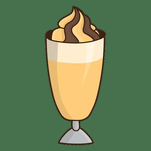Sobremesa de milkshake de caramelo Transparent PNG