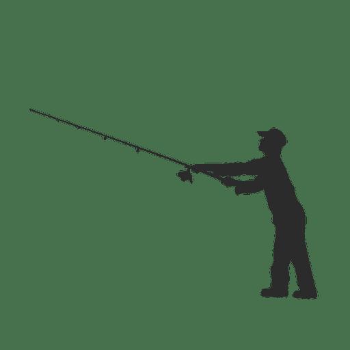 Pescador de pesca de peces