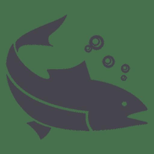 Pesca Silhueta Animal De Peixe Baixar Png Svg Transparente