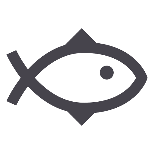Fishing fish animal icon - Transparent PNG & SVG vector