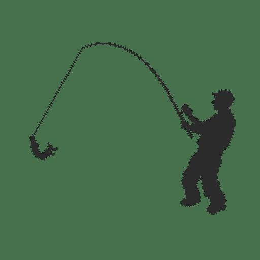 Pescador pescador de pesca