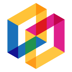 Geometrisches Logo abstrakt
