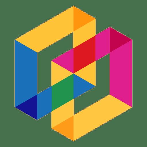 Geometric logo abstract