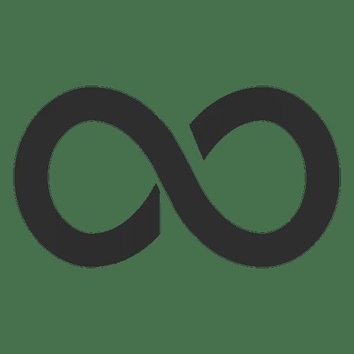 Gradient infinity logo infinite