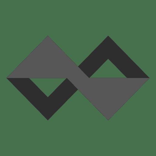 Geometric infinity logo infinite