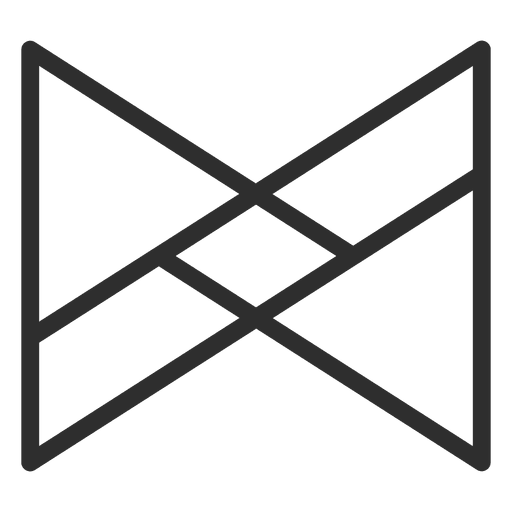 Polygonal infinity logo