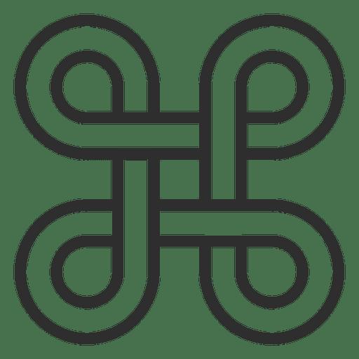 Four Infinity Symbols Logo Infinite Transparent Png Svg Vector