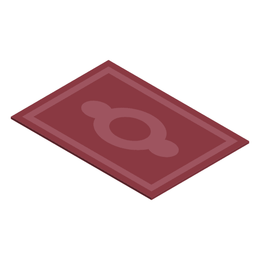 Isometric carpet home Transparent PNG