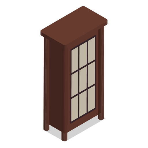 Isometric home furniture Transparent PNG