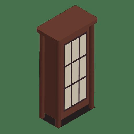 Mobiliario de hogar isométrico