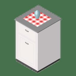 casero cocina isométrica