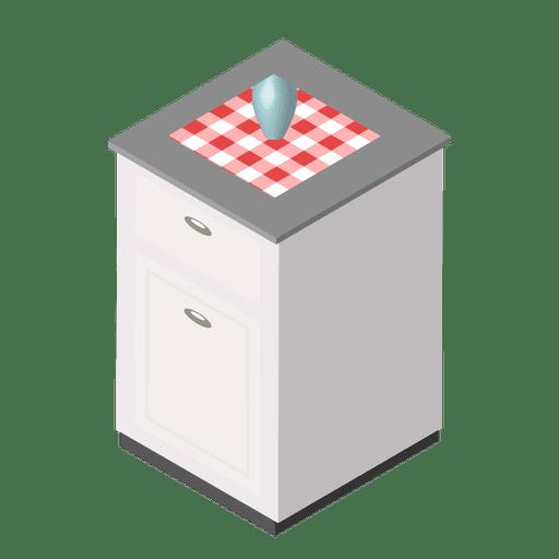 Casa de cozinha isométrica Transparent PNG
