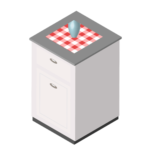 Isometric kitchen home Transparent PNG