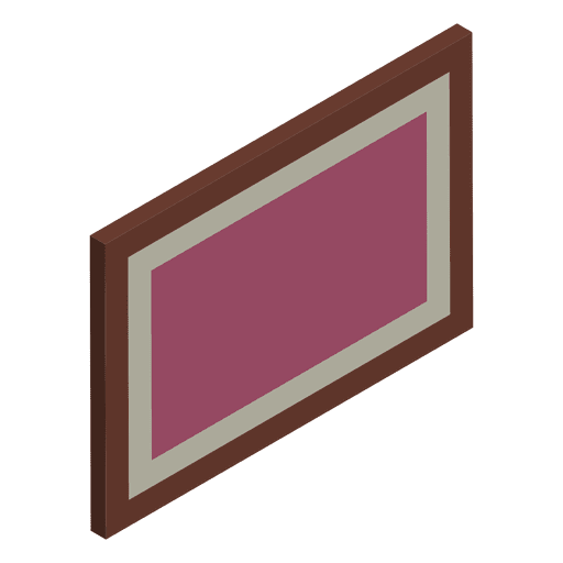 Isometric painting home Transparent PNG