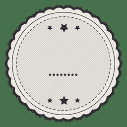 insignia de la etiqueta