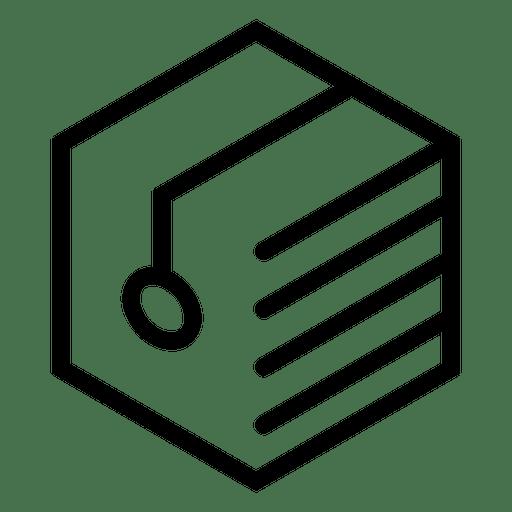Logo geometric polygonal