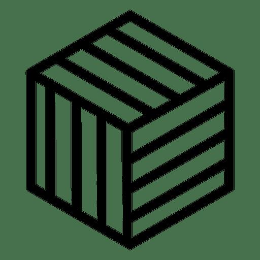 Logotipo 3D geométrico poligonal