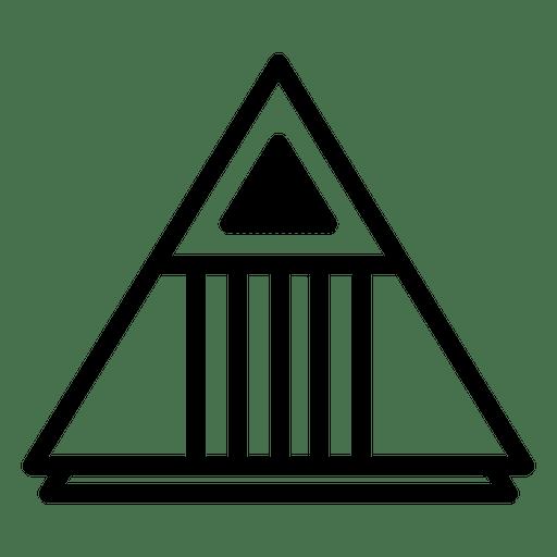 Logo polygonal geometric