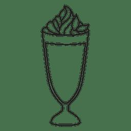 Icono de Milkshake