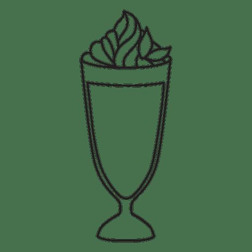 Milkshake Icon  Transparent PNG