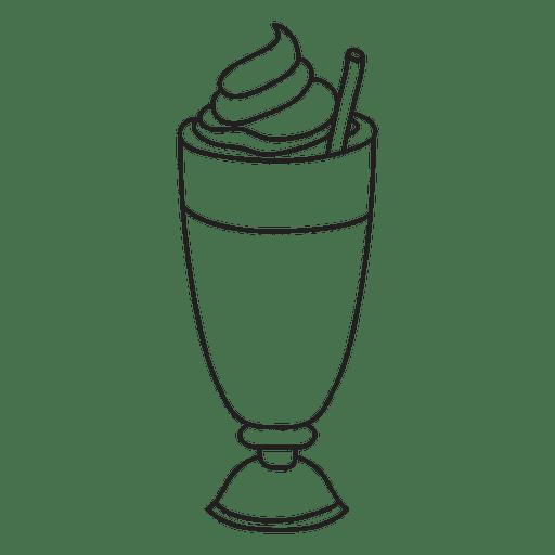 Milkshake Dessert Transparent PNG