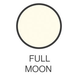 Moon full moon icon