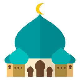 Mosque islam flat